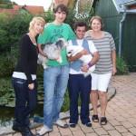 Meine Familie und Nacho