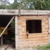 Hausbau der Vieja del Anden