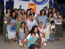 Kindergarten celebration at Che Pibe: the teachers