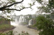 The waterfalls at Iguazú
